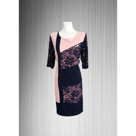 Csipkebetétes elegáns ruha