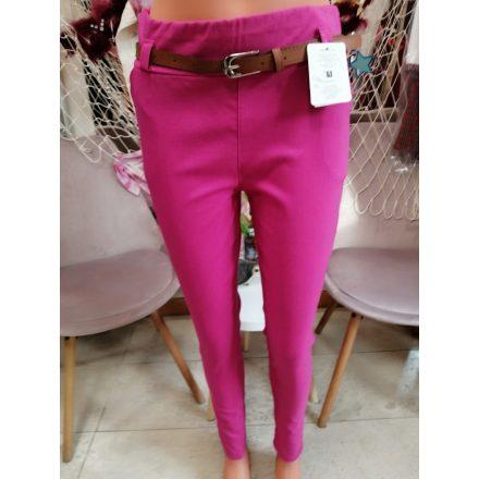 Sztreccses nadrág mustársárga színben