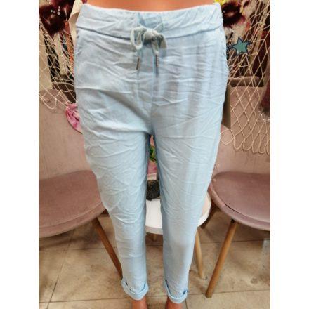 Sztreccses nadrág piros színben