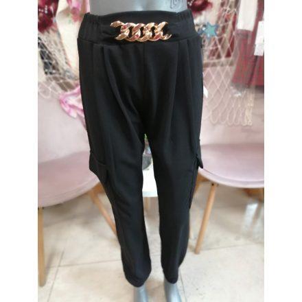 Sztreccses nadrág babakék színben